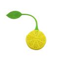 Zitronenförmiges Teesieb aus Silikon