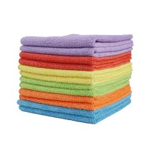 40/40cm 300gsm Warp Knitting Microfiber Car Drying Towel