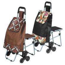 Saco de carrinho de compras com assento (SP-551)
