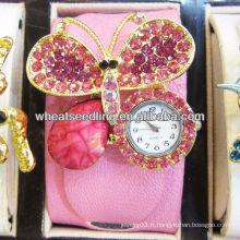 Montres à bijoux en cuir pour femmes et femmes à la vente chaude pour la promotion WW51