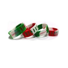 Cheap Custom Made Cool Popular Printable Silicone Wristband