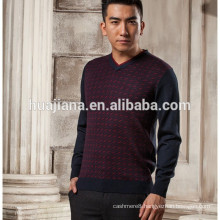 anti-pilling cashmere men's knitting sweater