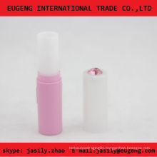 Stylish elegance lip balm cosmetic tube