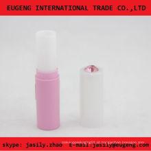 Elegante bálsamo labial cosméticos tubo