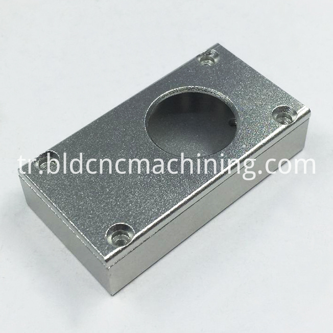 machined aluminum box