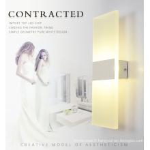 Lampe murale LED carrée moderne de haute qualité