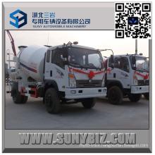 Sinotruk King 2 M3 Mini Concrete Mixer Truck