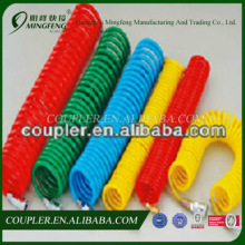 Hot sale high quality PU spiral air hose with fittings