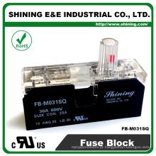 FB-M031SQ Aprovado UL Equal To Bussmann 1 Pole 30A Caixa de fusíveis de cerâmica