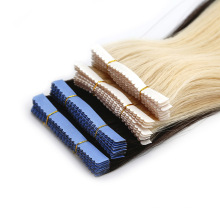 Double Drawn 100g Brazilian Hair 8-40 Inch Remy Tape in Hair Extensions Human Hair