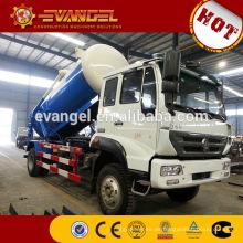 Camión cisterna de la succión de las aguas residuales de Howo 6x4 10-wheels