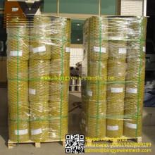 Rede de arame sextavada revestida PVC da galinha da rede de fio