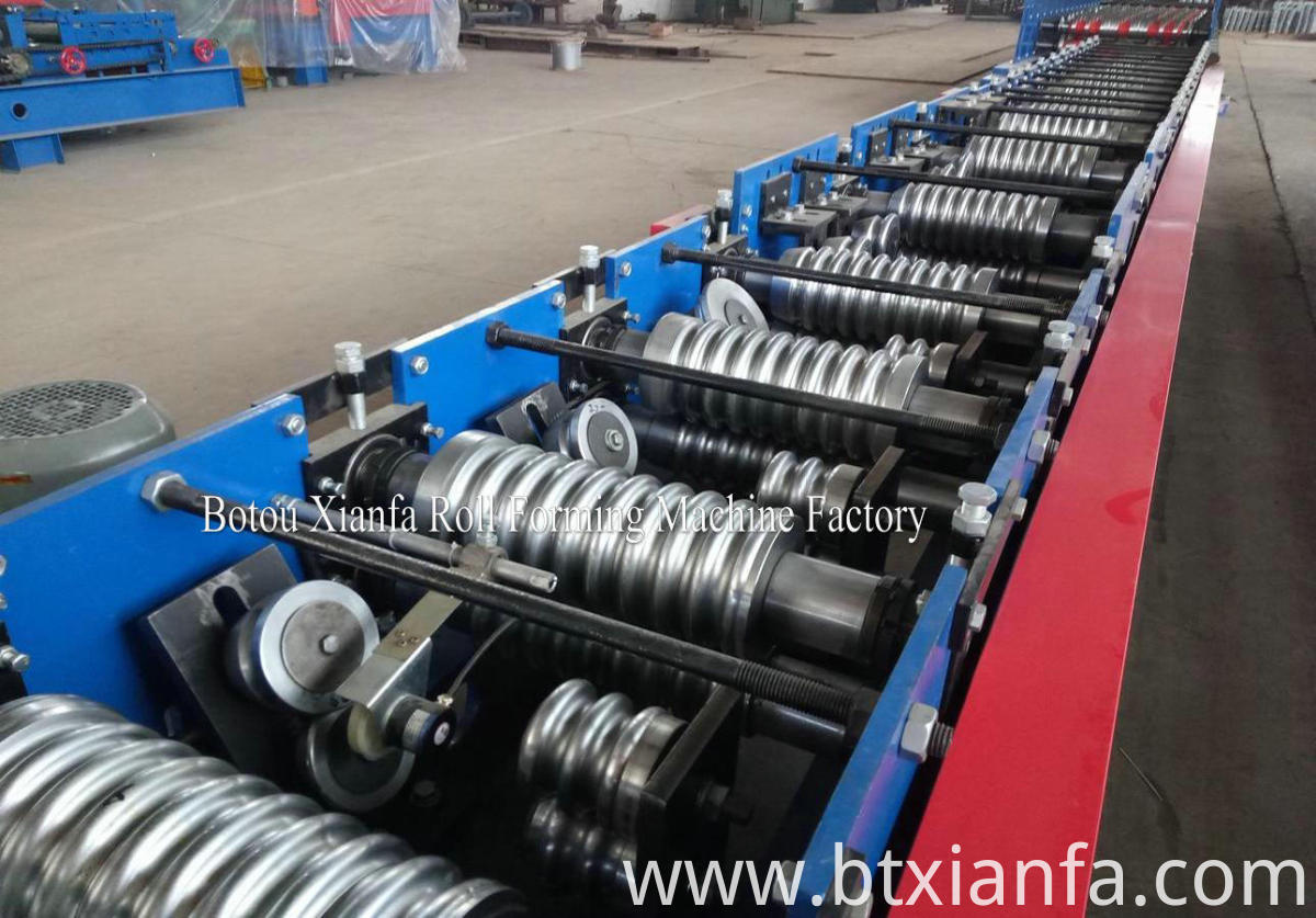 small wave metal panel roll forming machine