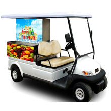Venda quente Park Use Food Cart com Trojan Battery
