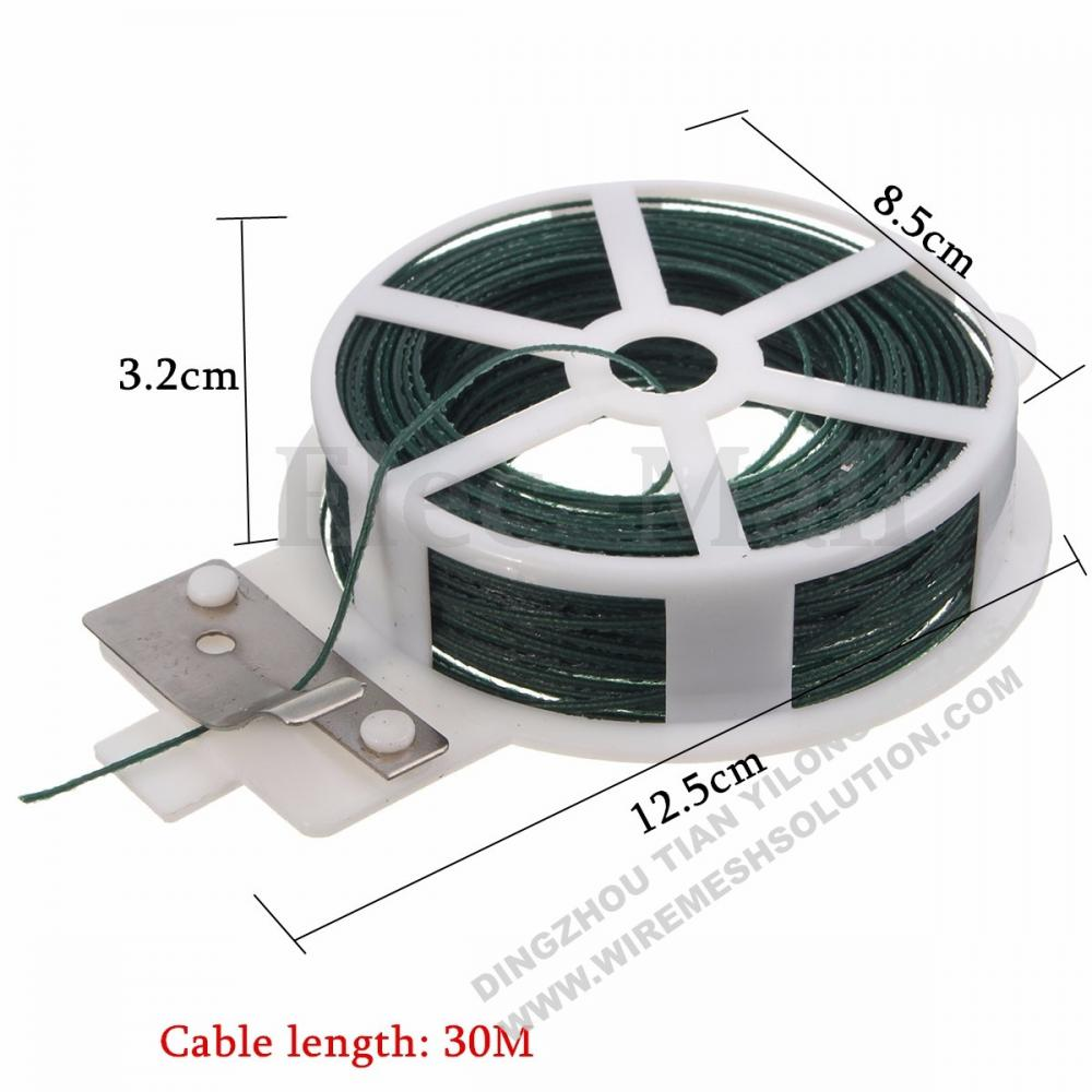 PVC Coated Garden Flat Wire