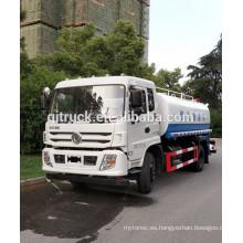 15CBM Dongfeng camión de agua / camión de agua bowser / camión de riego / carro de agua / camión de agua / agua camión de transporte / vagón