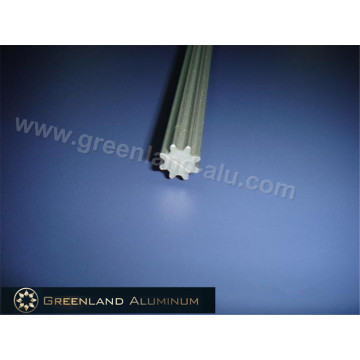 Aluminium Profile Tilt Rod for Vertical Blind Anodised Silver