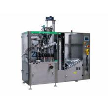 ZHNG-100A máquina de rellenar cosmética automática de alta velocidad del tubo con la tolva grande del tubo del almacenaje