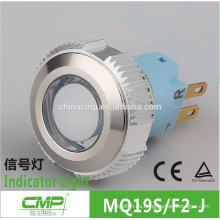 Impermeable IP67 Nivel 19mm bicolor Rojo Verde 12v o 24v LED Auto Light