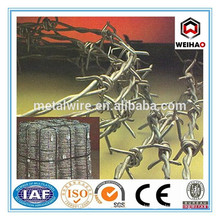 Electric Galvanized Barbed Wire/ Hot-dip zinc plating barbed wire