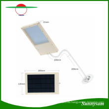 12/15/18 LED Solar Powered Panel LED luz de calle Solar Sensor Lighting Outdoor Path Wall lámpara de emergencia Spot Light Luminaria