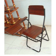 High Quality Student Folding Chair Best Price Wooden Office Chair Hot Sale Writing Chair