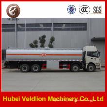 Caminhão de tanque de combustível 8X4 de alumínio