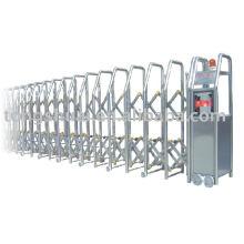 выдвижные ворота (нержавеющая сталь)