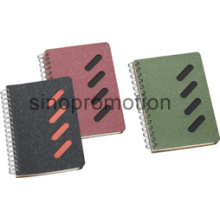 Mini Spiral Note Stationery Hard Cover Recycled Notebook (MN9072)