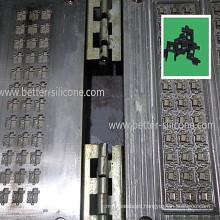 Herramienta del molde del caucho de silicón de la precisión LSR