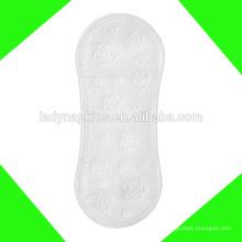 Top qualité coton bio top feuille biodégradable amicale feuille protège-slips