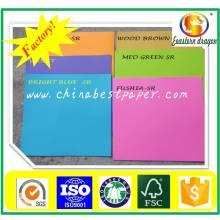 Papier couleur usine couleur directe 70g