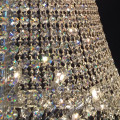 Classical hanging chain lamp antique glass crystal pendant light chandelier 62047