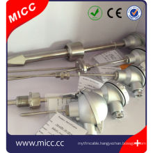 flange fixed grounded gassembly j thermocouple