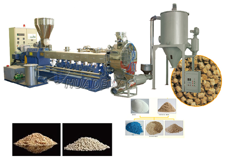 N WPC pelletizing line