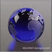 Big Diamond Colored Crystal Tellurion-World Map (OEM-NEW-013/OEM-BM-019)