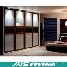 Simple Design Double Colour Wardrobe Closet (AIS-W360)