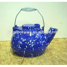mini cast iron pots tea kettle with enamel pre-seasoned coating
