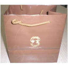 promotional Paper Bag for Garment. Pink Paper Bag Customized