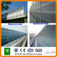 Barrière acoustique à grande vitesse (usine de Anping Chine)
