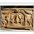 Sculpture en relief en bois et machine de gravure 3D