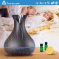 Aromacare Venta al por mayor 400 ml Forma del florero Sala de spa Aromaterapia Difusor de aceites esenciales 7 colores Humidificador