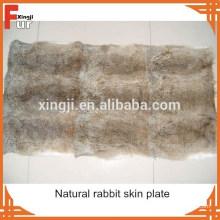 Оптом китайский натуральный коричневый кролик кожи плита