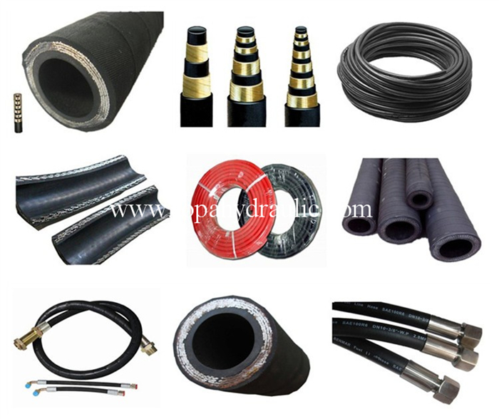 Oil Resistant Brand Names Flexible Hydraulic Hose