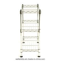 Rincón de baño de metal de almacenamiento de rack (CJ453090C3C)