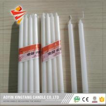 Bougie pilier blanche 1.5x20cm pour le Mali