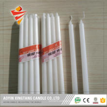 1.5x20cm white pillar candle for Mali