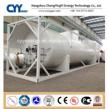 Kryogener LNG Lox Lin Lar Lco2 Tankcontainer mit ASME