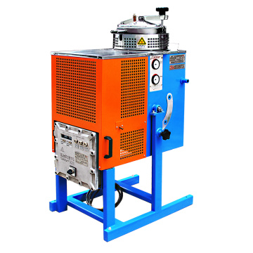 Machine de recyclage de distillation d'hydrocarbure de rebut