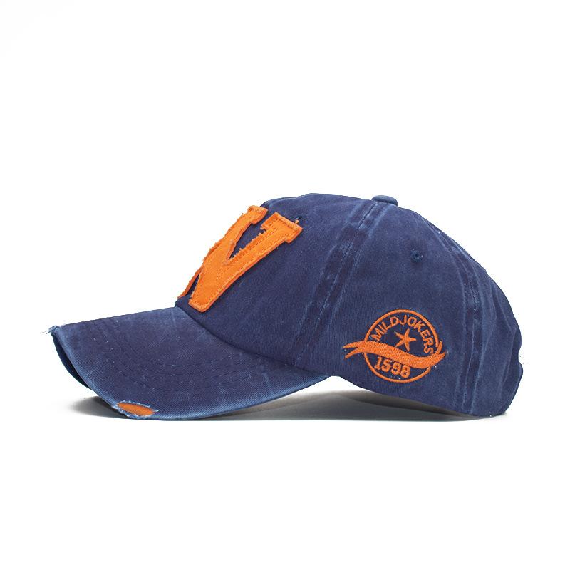Men's and women's caps alphabet caps baseball caps (8)